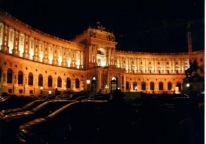 壮麗なウィ-ン王宮